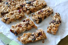 Healthy energy bars like KIND bars and Larabars have totally saved the day, so many times when I'm traveling, rushing in between classes, out backpacking or hiking, you name it. They're not great f...