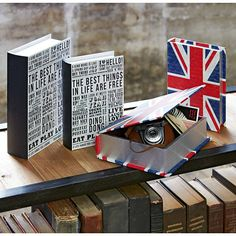 It's a book, nope, it's a storage box! Adorable!