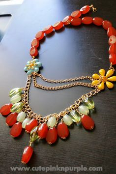 #statement #jewelery http://www.cutepinknpurple.com/2014/06/huge-jewellery-haul.html #necklace
