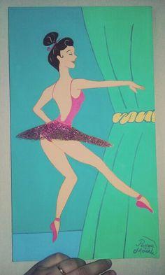 Bailarina - Pascoa Moterle - 25X35cm.