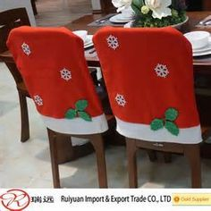 34 Super crochet crafts for table Crochet Christmas Gifts, Christmas Bows, Homemade Christmas Gifts, Christmas Time, Christmas Crafts, Holiday, Crochet Gifts, Christmas Chair Covers, 242
