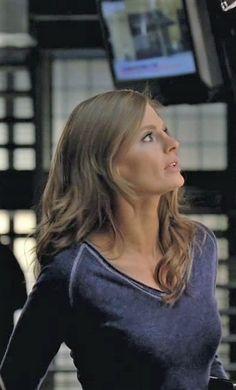 Castle Beckett, Castle Tv, Richard Castle, Laugh A Lot, Elle Magazine, Stana Katic, Olay, Emma Watson, True Beauty