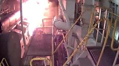 The U.S. National Transportation Safety Board(NTSB) has determined the probable cause of the engine room fireon the Carnival Liberty: improperly tightened bolts on a fuel inlet flange. http://maritime-executive.com/article/loose-bolts-caused-fire-on-carnival-liberty