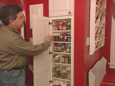 Built-In Spice Rack    Steps for installing a built-in spice rack between two wall studs to create useful storage with character.