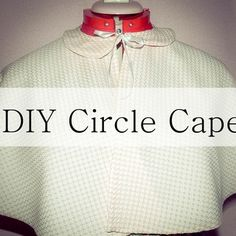 DIY Circle Cape Stop Motion Tutorial
