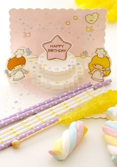 Lavender & yellow Little Twin Stars party