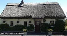 Pretty thatched Irish cottage in Connemara, County Galway, Ireland. Click on the photo to see it on our Facebook page alongside many other beautiful Ireland photos.