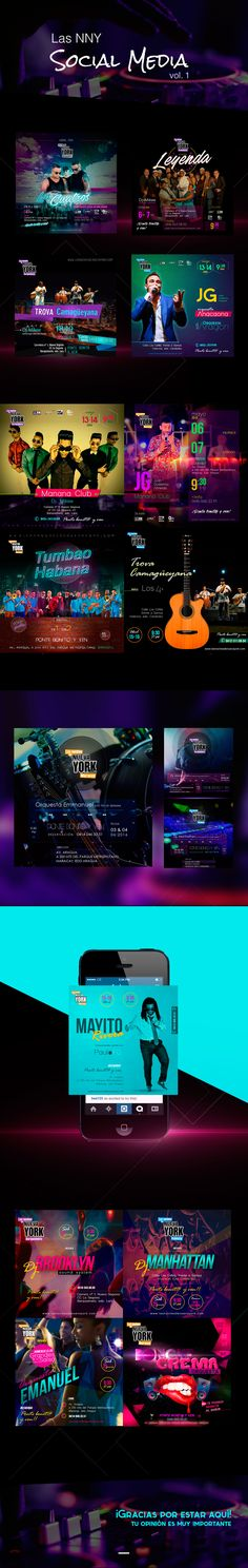 Ideas para publicidad de eventos night club para social media #banner, #post #flyers #Party
