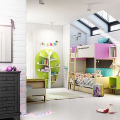 Bunk beds come in a wide variety of designs, patterns and colors. Pick great designs and colors of bunk beds that will complement your kid's bedroom Explore Safe Bunk Beds, Bunk Beds For Girls Room, Cool Bunk Beds, Bunk Beds With Stairs, Kids Bunk Beds, Stair Plan, Kids Toddler Bed, Modern Bunk Beds, Outdoor Kitchen Design