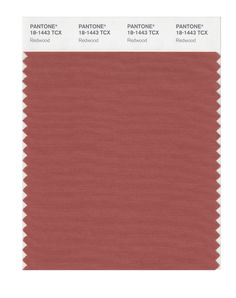 Pantone Smart Swatch 18-1443 Redwood