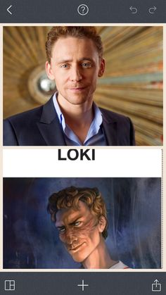 I was looking at Magnus Chase official art on Rickriordanwiki or something and I realized. Loki (Tom Hiddleston) is still Loki no matter what fandom