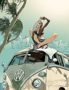 Get Inspired! — 6 Amazing Illustrations by Gavin McBain