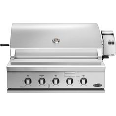 DCS Professional 36-Inch Built-In Natural Gas Grill With Rotisserie - BH1-36R-N available at BBQ Guys. DCS grills are engineered for...