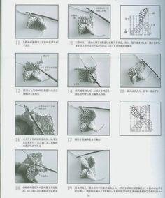 Punto Mariposa en Crochet Tutorial - Patrones Crochet