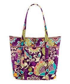 c11698f5e67d Love this Plum Crazy Vera Tote on  zulily!  zulilyfinds Extra Large Tote  Bags