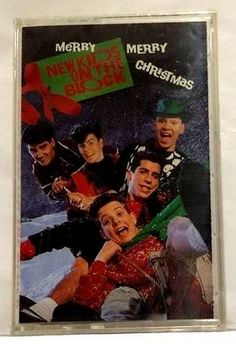 NEW KIDS on the BLOCK:  Merry Merry Christmas CASSETTE TAPE - NEW/Factory Sealed