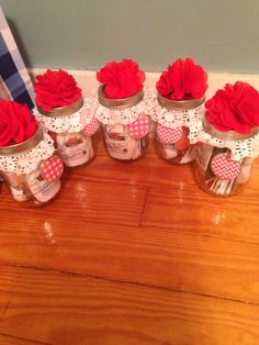 Pedicure in a jar ... I just made these! They were super easy and really fun to make