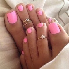 Get your nails done for spring break! #spring #nails #pink #beauty