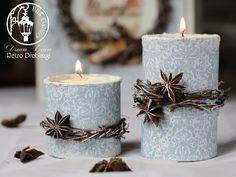 christmas home decor candles tea lights