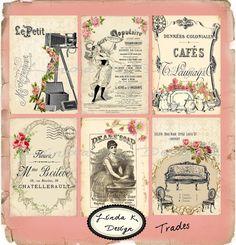 vintage trade card designs