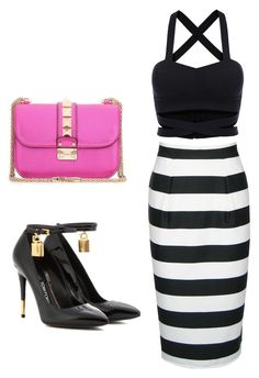 """""""Untitled #77"""" by avisohanpal on Polyvore featuring Tom Ford and Valentino"""
