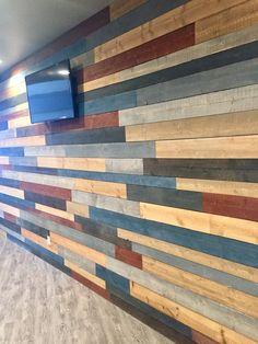 Shiplap 'no lap' boards 300 SQFT Wood Panel Walls, Plank Walls, Wall Boards Panels, Installing Wainscoting, Ceiling Decor, Shiplap Ceiling, Ship Lap Walls, Rustic Luxe, Grey Stain