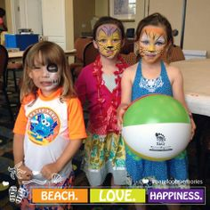 Ain't no party like a face paintin' party! We make rainy days fun at the #HiltonPensacolaBeach!  #BarefootMemories #PensacolaBeach
