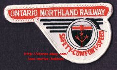 LMH PATCH Badge  ONTARIO NORTHLAND Railway  ONT Canadian Railroad  Safety Speed picclick.com