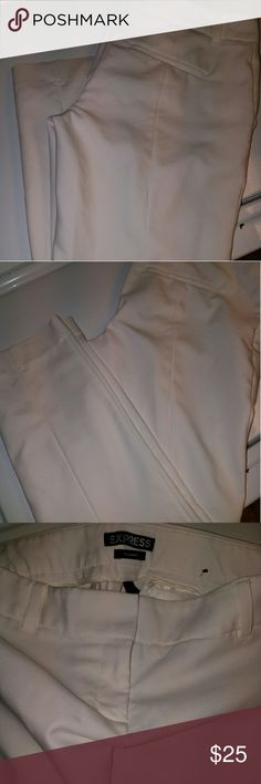 Express Columist Pants - off White Sz-4R Excellent used condition- no defects Express Pants Trousers