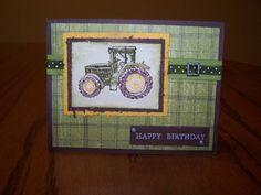 birthday tractor