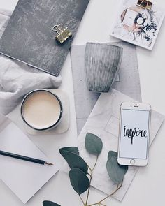 Shades of grey flatlay Fall Inspiration, Flat Lay Inspiration, Do It Yourself Inspiration, Layout Inspiration, Flat Lay Photography, Photography Tips, Breakfast Photography, Coffee Photography, White Tumblr