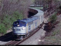 RailPictures.Net Photo: CSXT 116 CSX Transportation (CSXT) EMD F7(A) at Paris, Kentucky by Jim Bobel