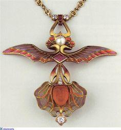 Art Nouveau jewellery. Philippe Wolfers (1858 - 1929)