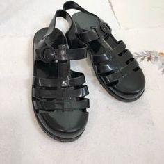 d02b5461eac2 American Apparel Shoes - American Apparel Jelly Plastic Sandals Plastic  Sandals