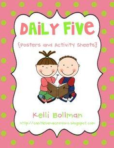 The Daily Five Posters and Anchor Charts FREE