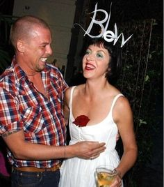 Two of the people I admired so much now both now passed. Lee McQueen and Isabella Blow