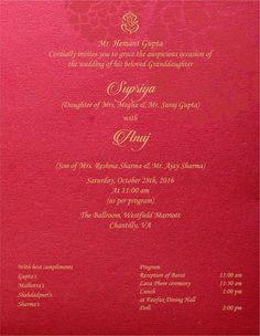 239 Best Hindu Wedding Invitation Inspiration Images Wedding