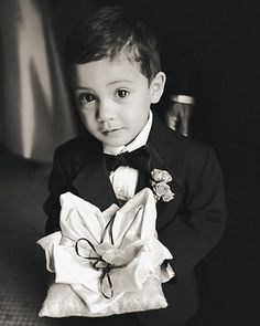 the cutest ring bearer ever