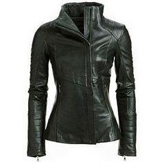 Arra Womens Leather Jacket