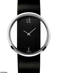 Minimalistic chic - CK watch would Love to have this