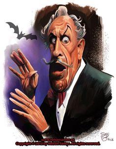 Vincent Price by nelsonsantos.deviantart.com
