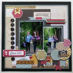 leuke scrap layout
