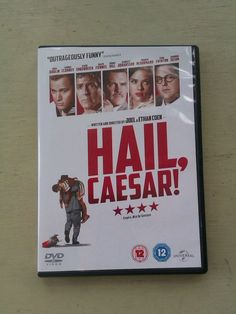 Hail Caesar! DVD Coen Brothers George Clooney Scarlett Johansson Channing Tatum