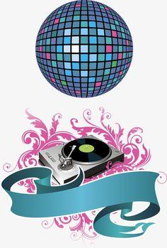 80s Birthday Parties, Dance Party Birthday, Happy Birthday, Dj Images, Music Images, Disco Party, Disco Ball, Bolo Dj, Bolo Musical