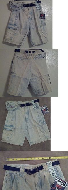 Shorts 175776: Vintage Jordache No Exit 80 S- 90S Cargo Beeper Pouch Jeans Shorts High Waist 30 -> BUY IT NOW ONLY: $51.92 on eBay!