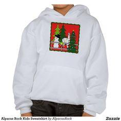 Alpacas Rock Kids Sweatshirt