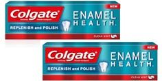 Even Better! Colgate Enamel Health Toothpaste 5.5 oz only $.32 at Target after Coupon and Gift Card!