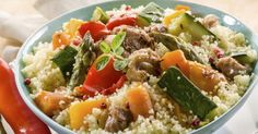 Recette de Couscous express au poulet spécial Cookeo. Facile et rapide à réaliser, goûteuse et diététique. Ingrédients, préparation et recettes associées.