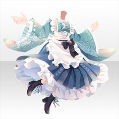 Adventure Outfit, Cocoppa Play, Anime Outfits, Chinese Style, Chibi, Cinderella, Wonderland, Disney Characters, Fictional Characters