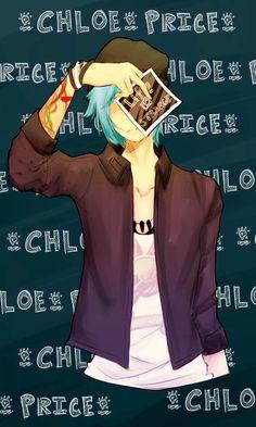 blue hair, chloe price, life is strange videogame
